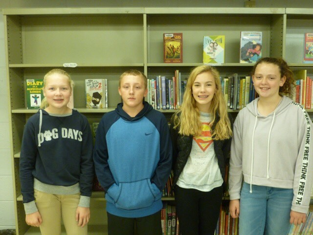 7th Grade Interact Officers