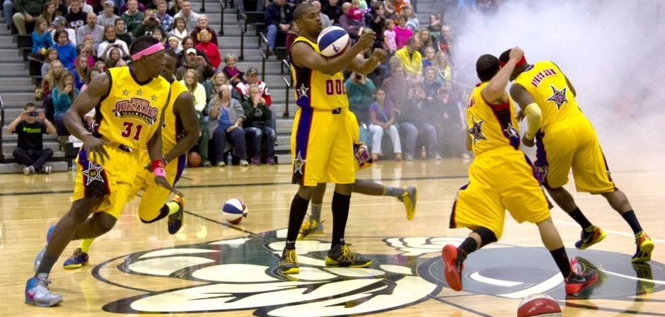Hedding PTO Brings Harlem Wizards to AAHS