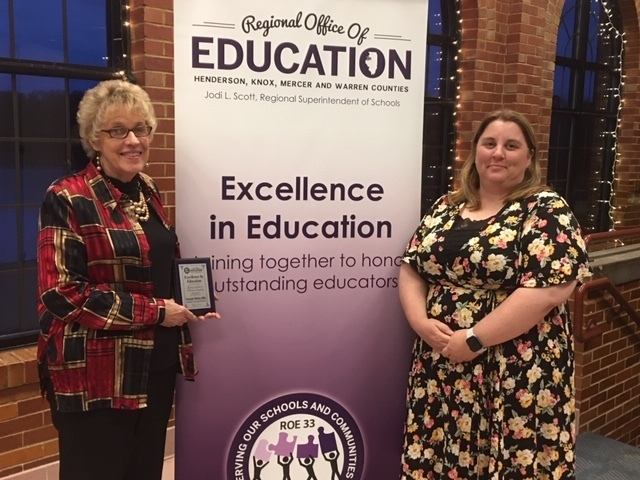 ROE 33 Excellence in Education Recognition for A-Town's Stephanie McKinley-Miller