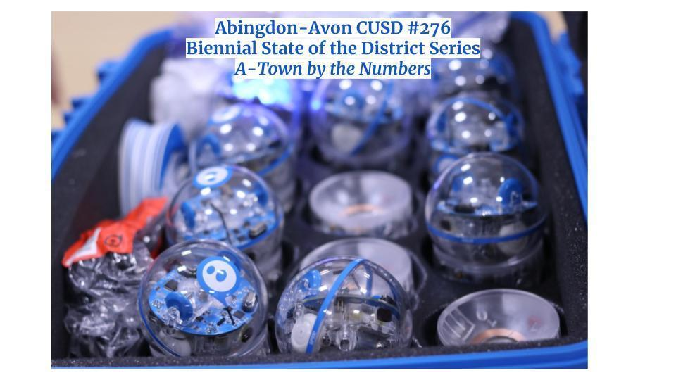 ABINGDON-AVON CUSD #276 BIENNIAL STATE OF DISTRICT - A-Town by the Numbers