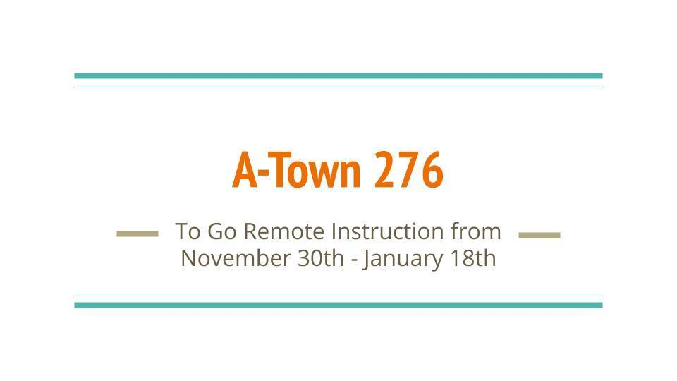 D276 Board of Education Votes to Go Remote During Holidays