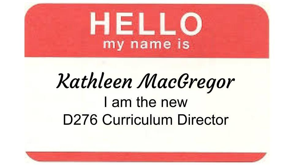 Meet the New Curriculum Director