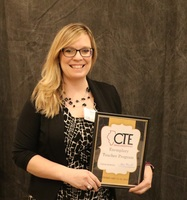 A-Town Technology Teacher, Mrs. Sarah Horner, Selected as One of Illinois' Exemplary CTE Professionals