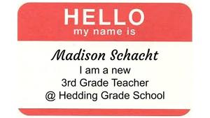 Meet Another of our New 3rd Grade Teachers