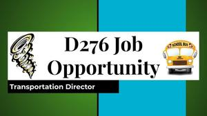 D276 Seeks Transportation Director for Upcoming School Year