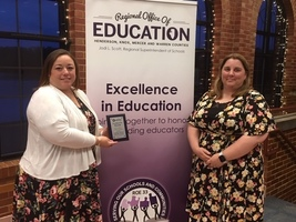 ROE 33 Excellence in Education Recognition for A-Town's Margie Winski