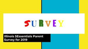 5 Essentials  Survey for Parents