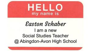 Meet our New HS Social Studies Teacher