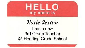 Meet one of our New 3rd Grade Teachers