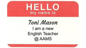 Meet our New English Teacher at AAMS
