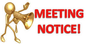 April Board Meeting - Rescheduled