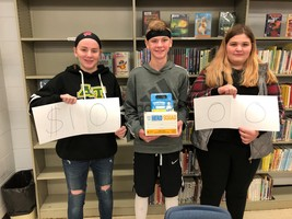 Abingdon-Avon Middle School and Avon Elementary collect for Pennies for Patients