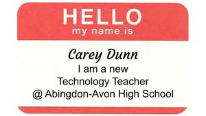 Meet our New HS Technology Teacher