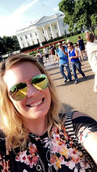 Mrs. Horner at the White House