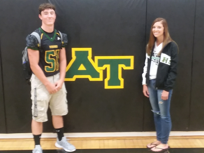 Students of Month for Augusta