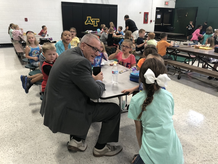 First grade lunch
