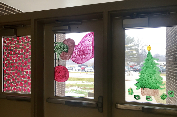 The Grinch window