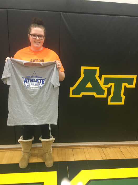 Alexis Wilson, Athlete of the Week
