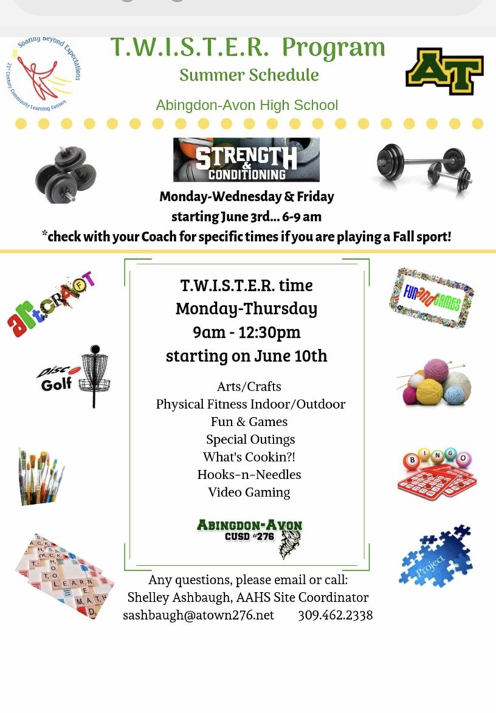 TWISTER Summer Program details