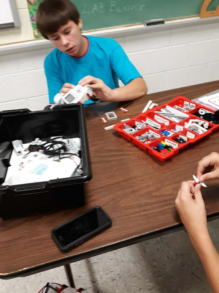 7th Grade STEM Mars Rovers with Lego Mindstorm
