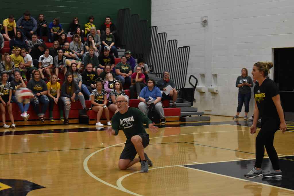 Teachers vs. Sophomores Iron Man