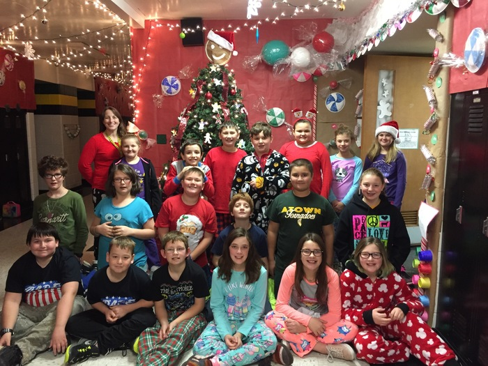 5th Grade Pajama Day!