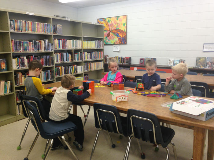 Pre-K and the Library Makerspace