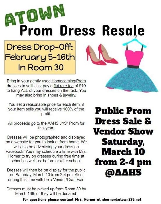 Prom Resale Event