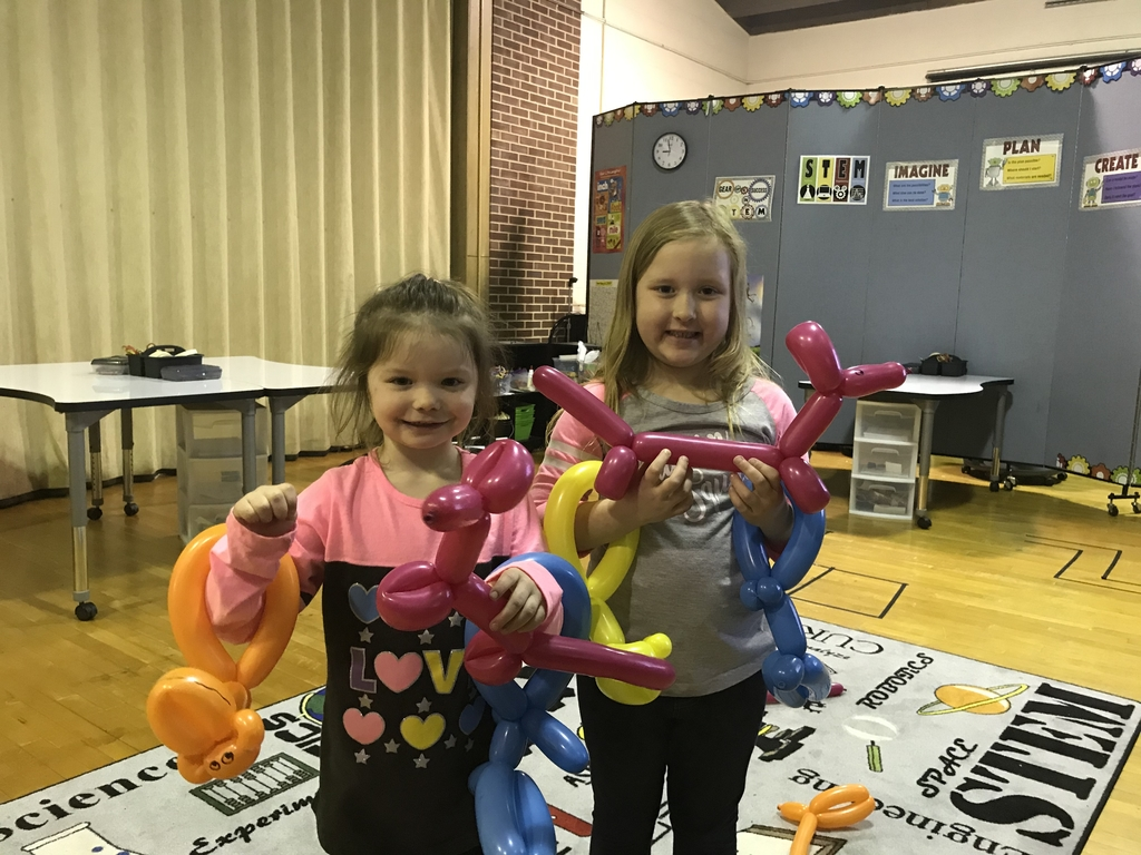 Balloon animals!
