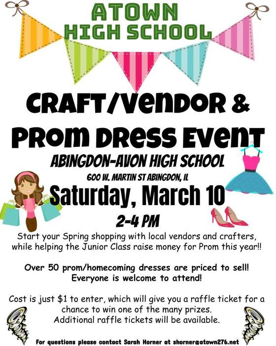 Prom/Craft Event