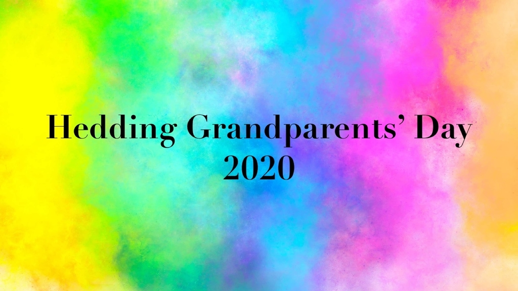 Hedding Grandparents day 2020