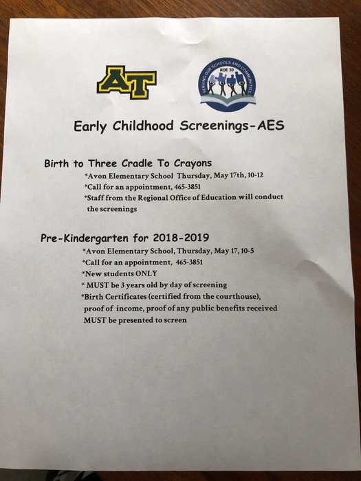 AES Screening Info